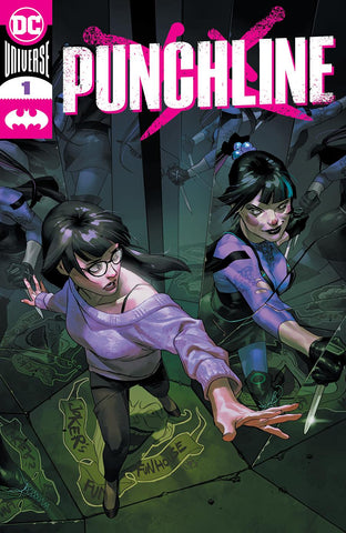 PUNCHLINE #1 5 ISSUE BUNDLE