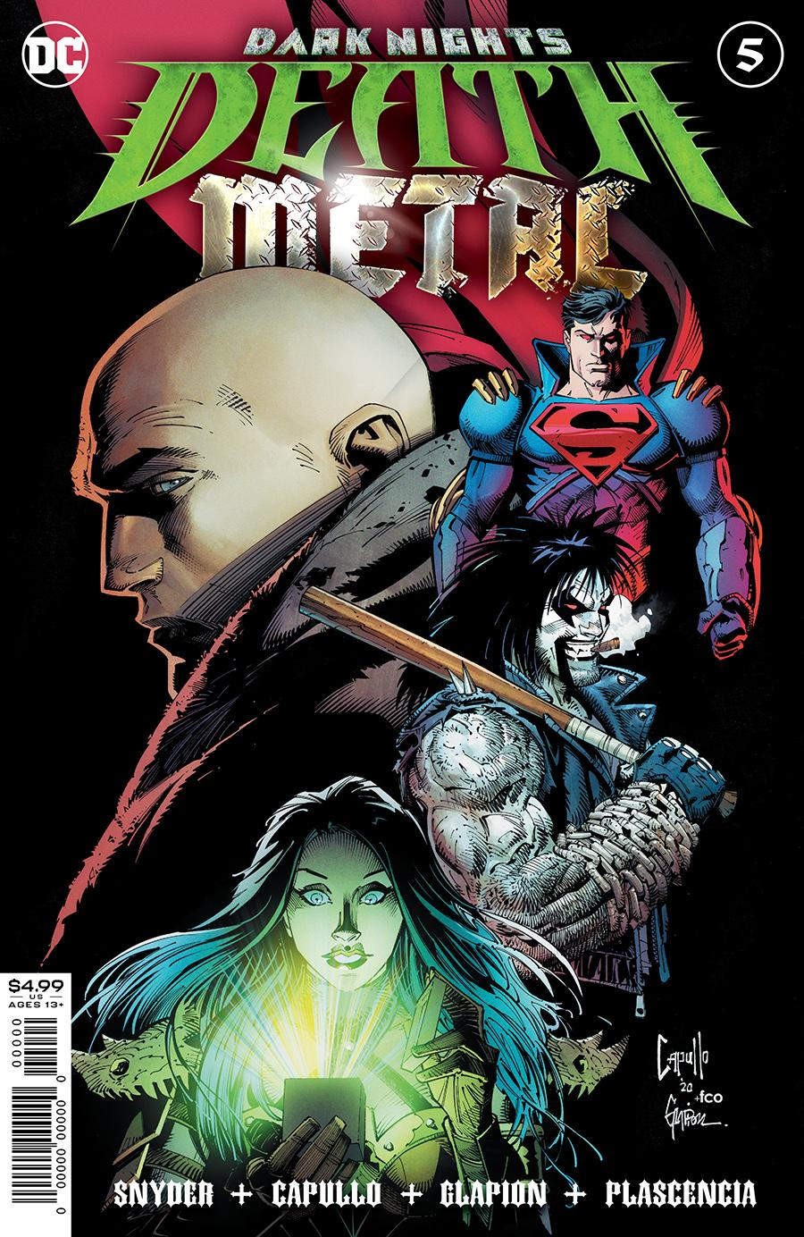 DARK NIGHTS DEATH METAL #5 COVER A GREG CAPULLO EMBOSSED FOIL