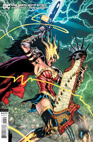 DARK NIGHTS DEATH METAL #2 1:25 DOUG MAHNKE VARIANT