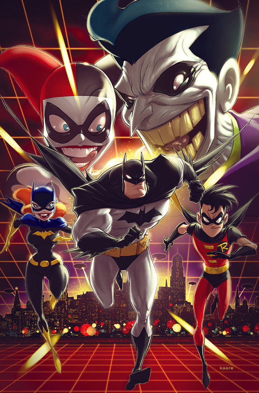BATMAN THE ADVENTURES CONTINUE #6 COVER B KAARE ANDREWS VARIANT