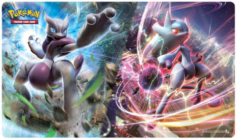 Pokémon Playmat (Mega Mewtwo X and Mega Mewtwo Y)