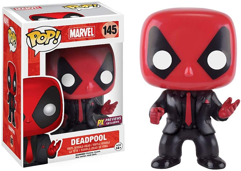 Deadpool Funko POP Marvel 145