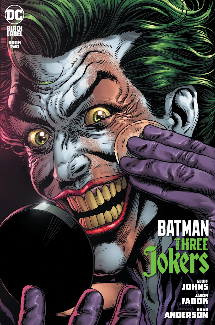 BATMAN THREE JOKERS #2 PREMIUM VARIANT F APPLYING MAKEUP