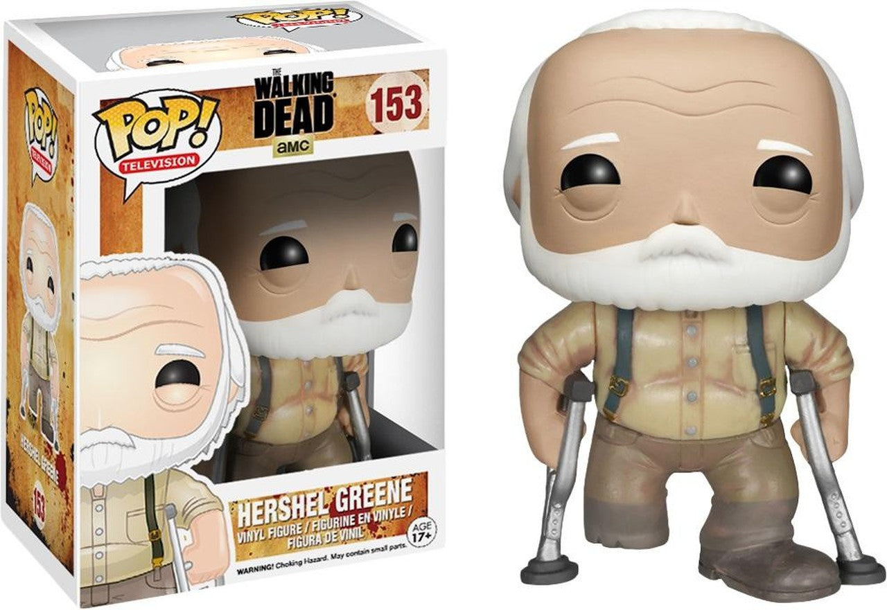The Walking Dead Funko POP Television 153 Hershel Greene