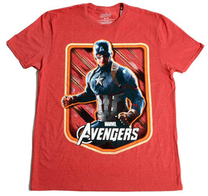 Captain America Marvel Avengers Men's T-Shirt