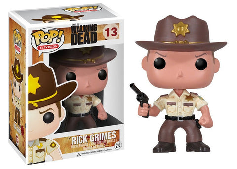 The Walking Dead Funko POP Television 13 Rick Grimes