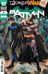 BATMAN #99 COVER A JORGE JIMENEZ (JOKER WAR)