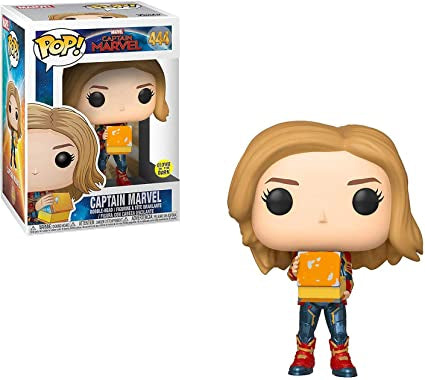 Captain Marvel Funko POP Marvel 444