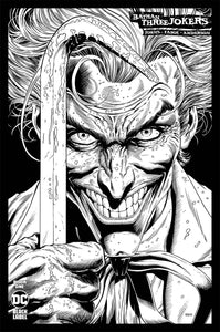BATMAN THREE JOKERS #1 (OF 3) 1:100 JASON FABOK B&W VARIANT