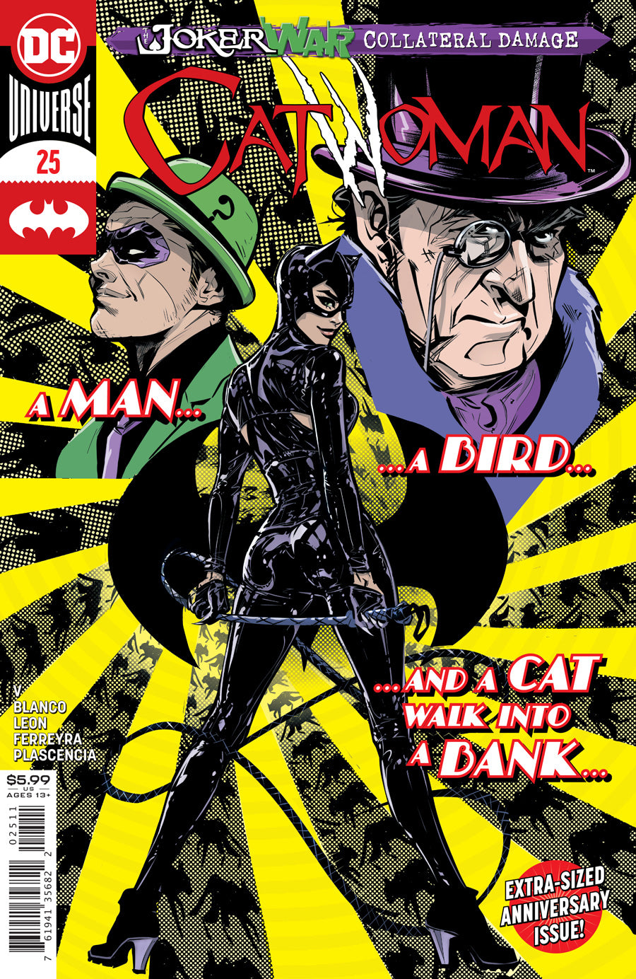 CATWOMAN #25 COVER A JOELLE JONES (JOKER WAR)
