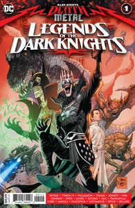 DARK NIGHTS DEATH METAL LEGENDS OF THE DARK KNIGHTS #1 (ONE SHOT) 2ND PTG TONY S DANIEL RECOLORED VARIANT