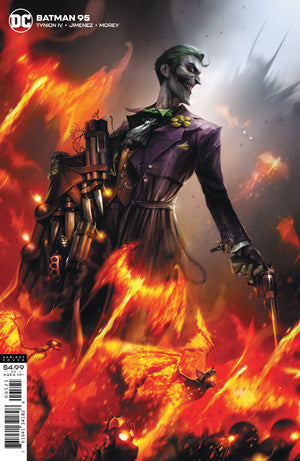 BATMAN #95 CVR B FRANCESCO MATTINA CARD STOCK VARIANT (JOKER WAR)