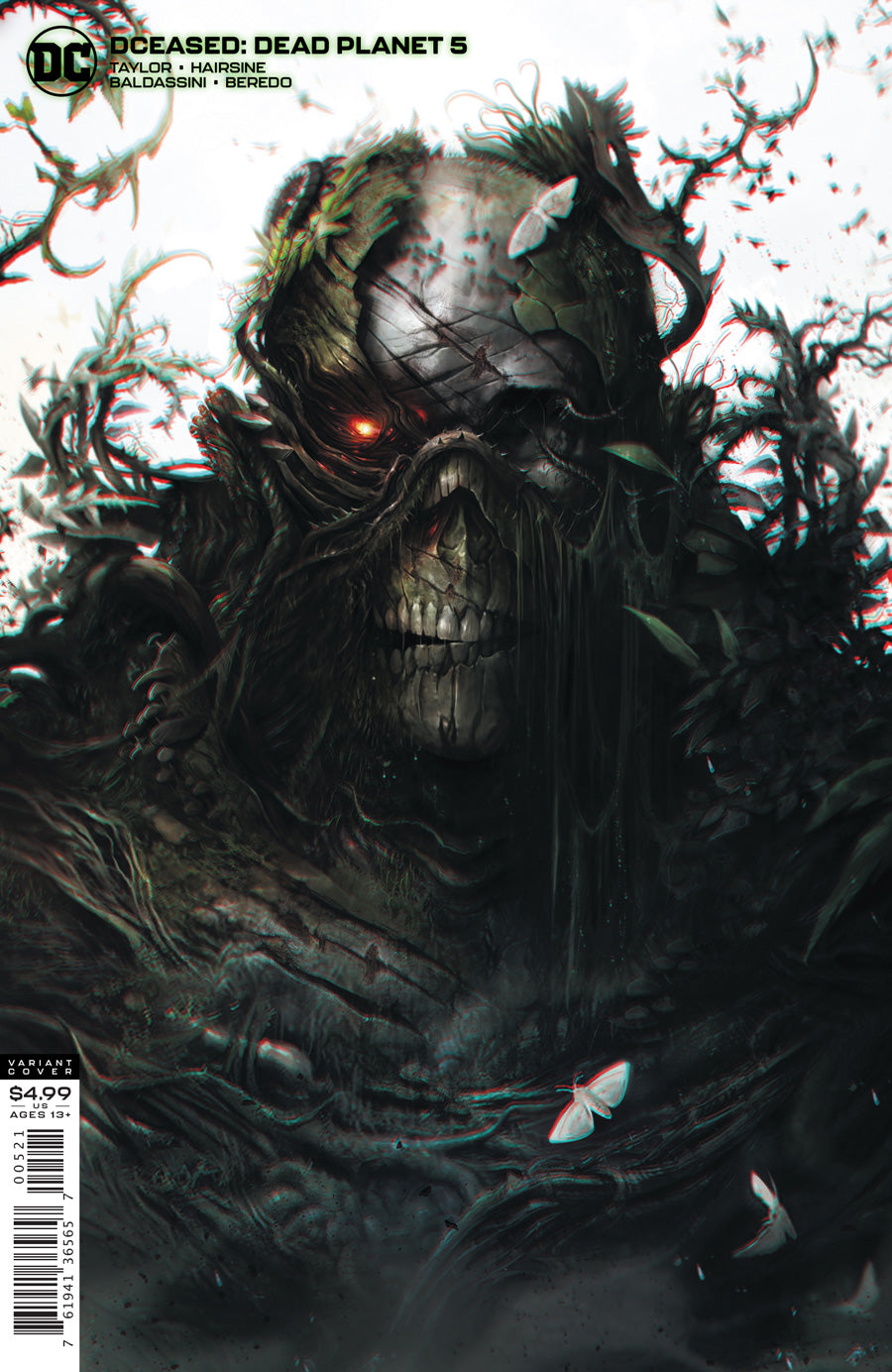 DCEASED DEAD PLANET #5 (OF 7) CVR B FRANCESCO MATTINA CARD STOCK VAR
