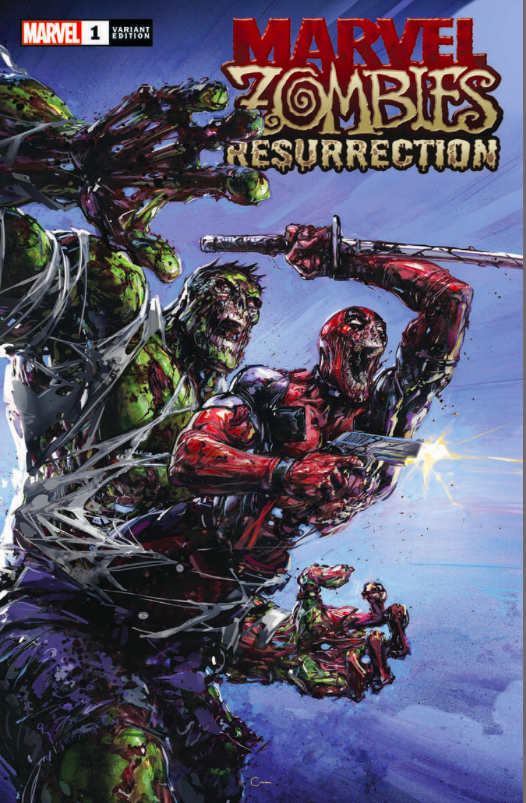 Marvel Zombies Resurrection 1 Variant Edition