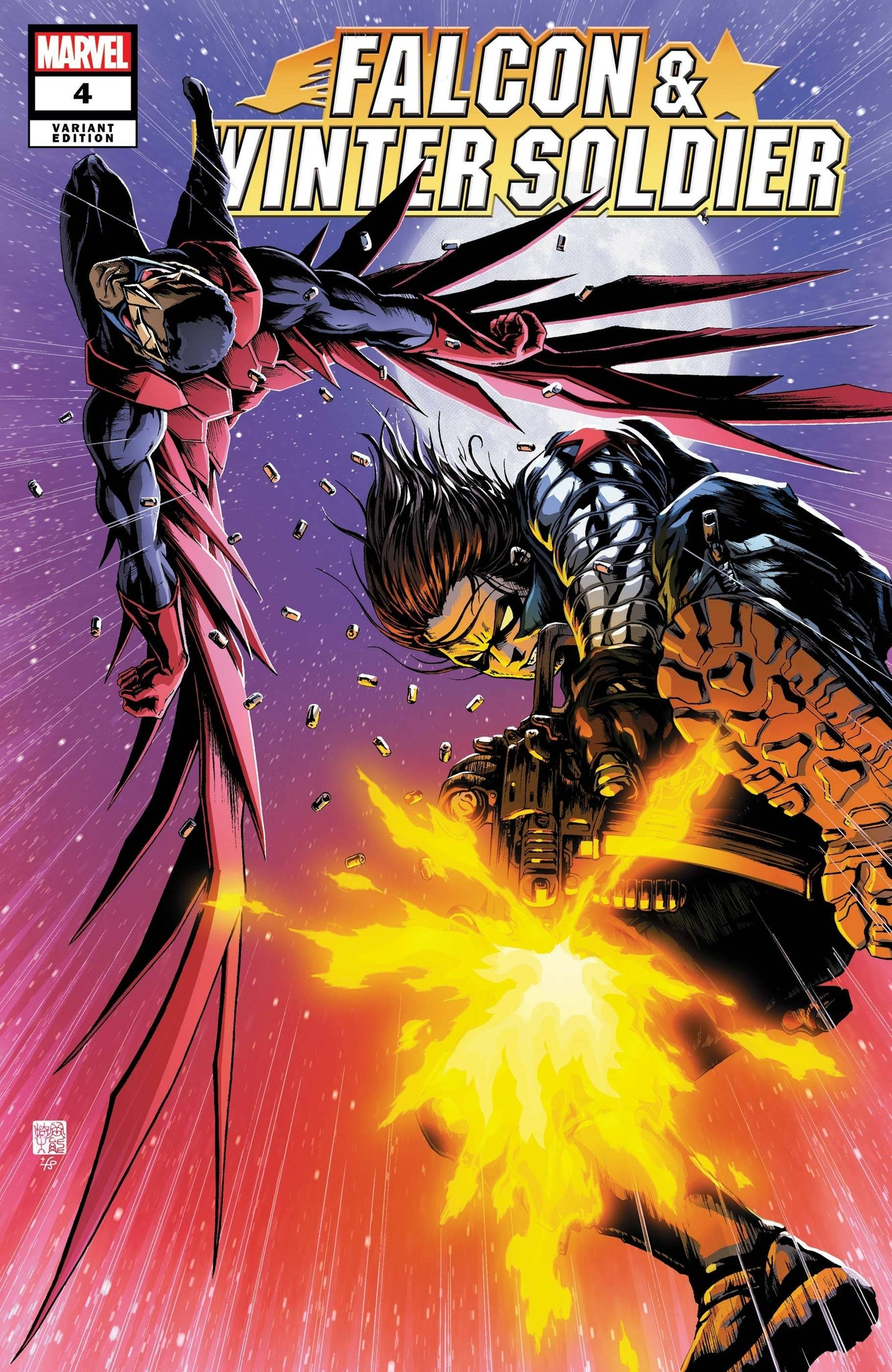 FALCON & WINTER SOLDIER #4 (OF 5) OKAZAKI VAR