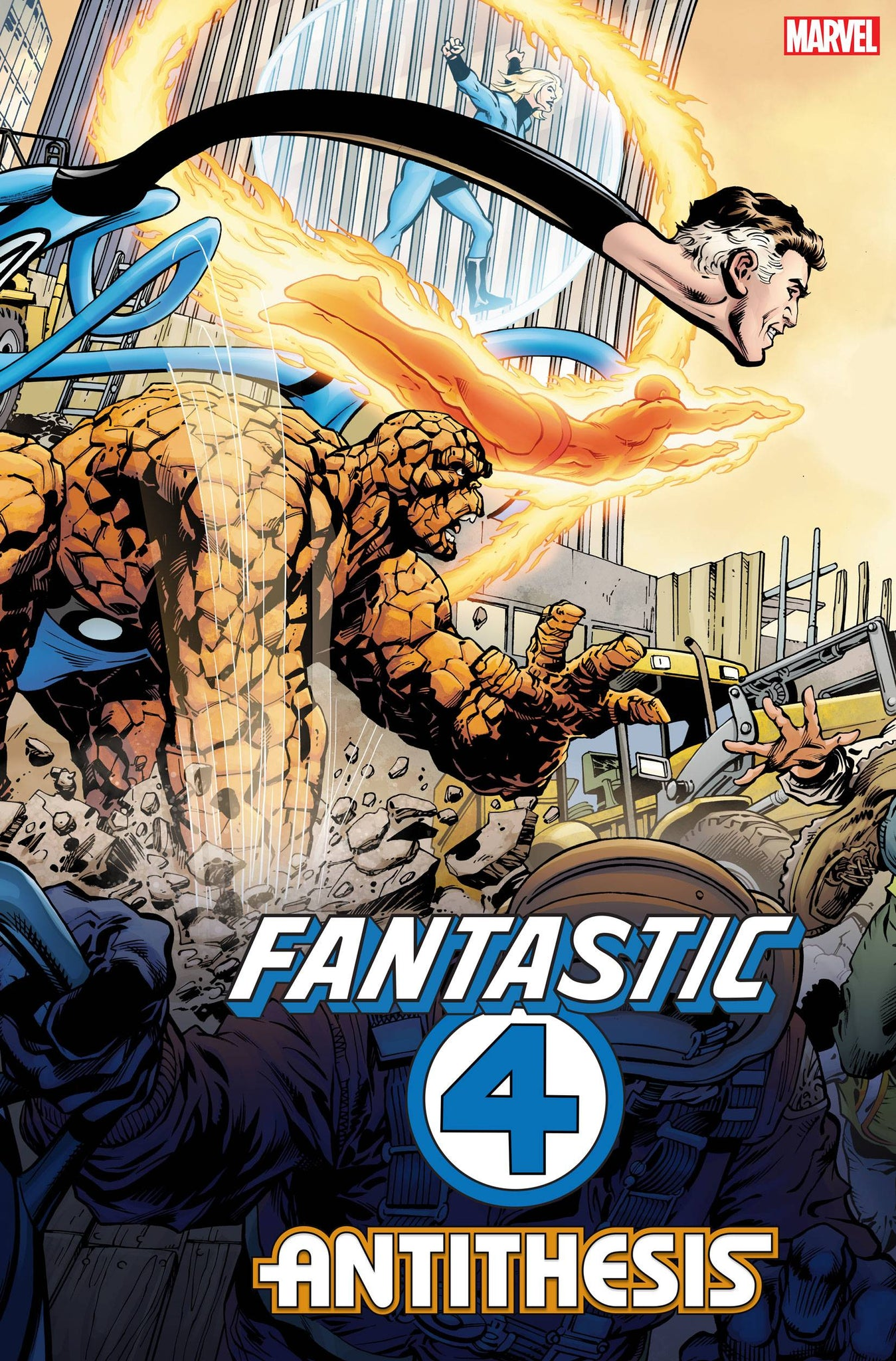 FANTASTIC FOUR ANTITHESIS #1 2ND PRINTING NEAL ADAMS VARIANT