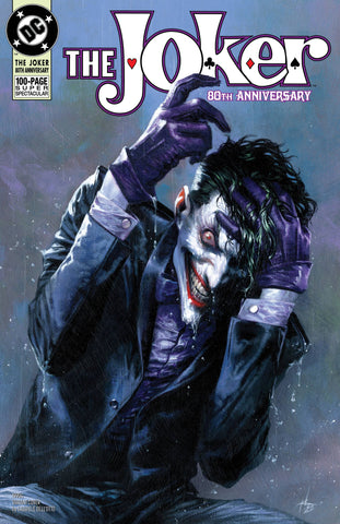 JOKER 80TH ANNIV 100 PAGE SUPER SPECT #1 1990S G DELLOTTO VA