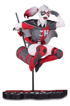 HARLEY QUINN RED, WHITE & BLACK: HARLEY QUINN BY GUILLEM MARCH STATUE