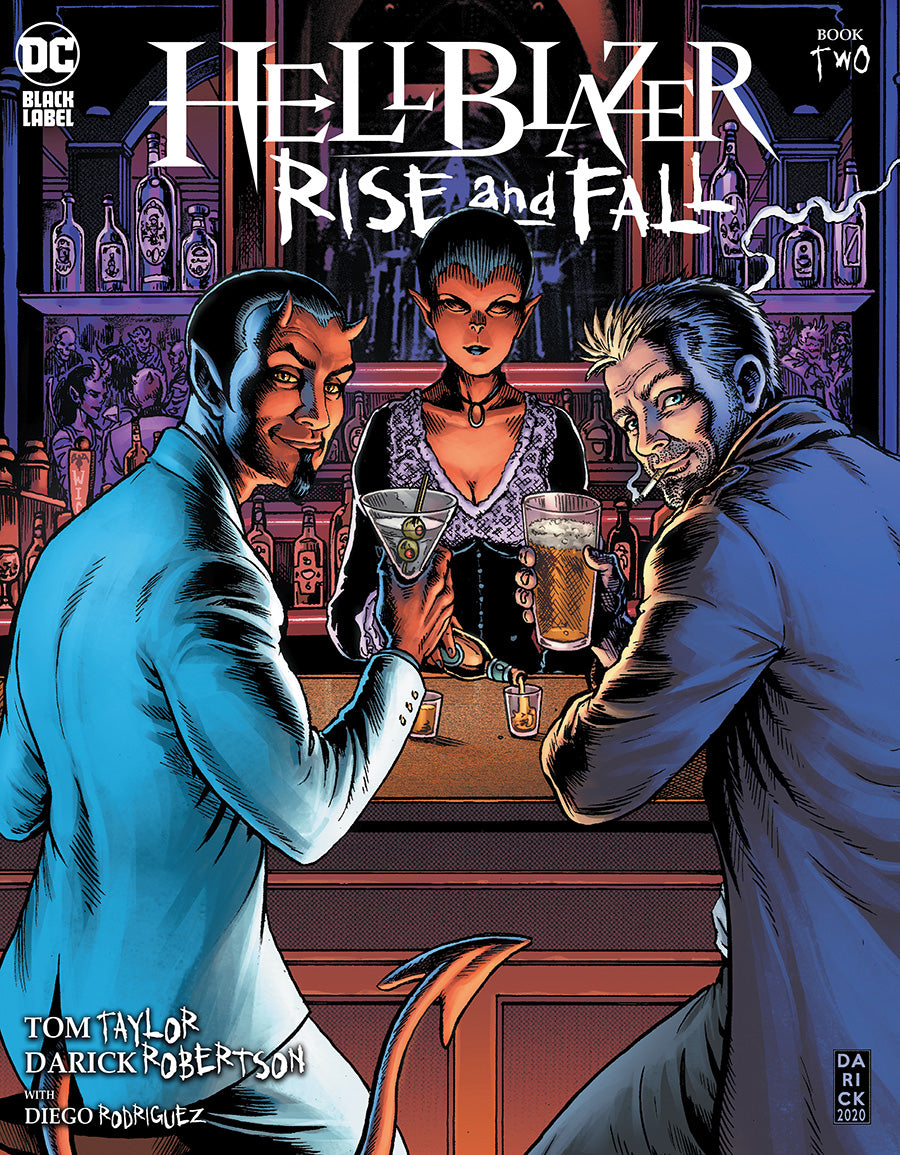 HELLBLAZER RISE AND FALL #2 (OF 3) CVR A DARICK ROBERTSON