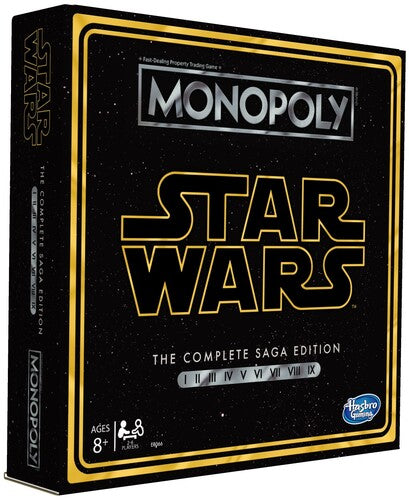 Monopoly Star Wars Saga Hasbro Gaming