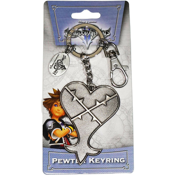 Kingdom Hearts Heartless Pewter Key Ring