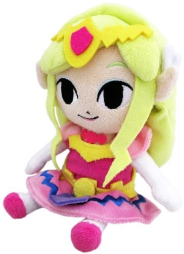 "Little Buddy The Legend of Zelda Princess Zelda 8"" Plush"