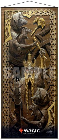 Magic: The Gathering Kaldheim Wall Scroll (The Bears of Littjara)