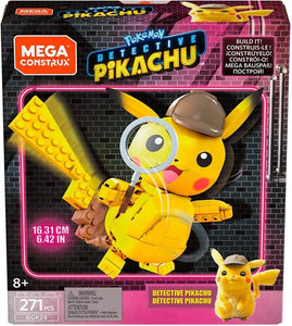Pikachu MEGA Brands - Pokemon: Detective Pikachu Medium