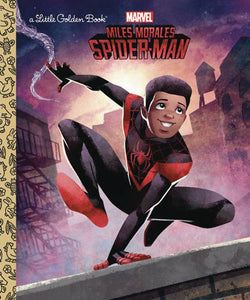 MILES MORALES SPIDER-MAN LITTLE GOLDEN BOOK