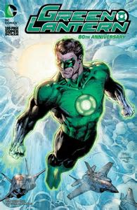 Green Lantern 80th Aniversary 2010 Variant Edition