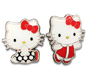 HELLO KITTY RETRO ENAMEL PIN SET