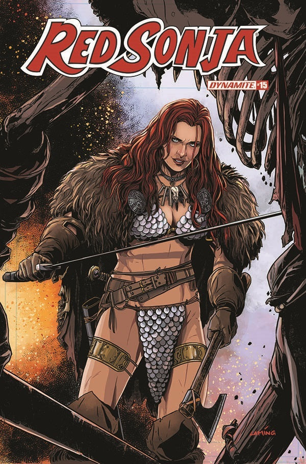 Red Sonja #15 Cover D