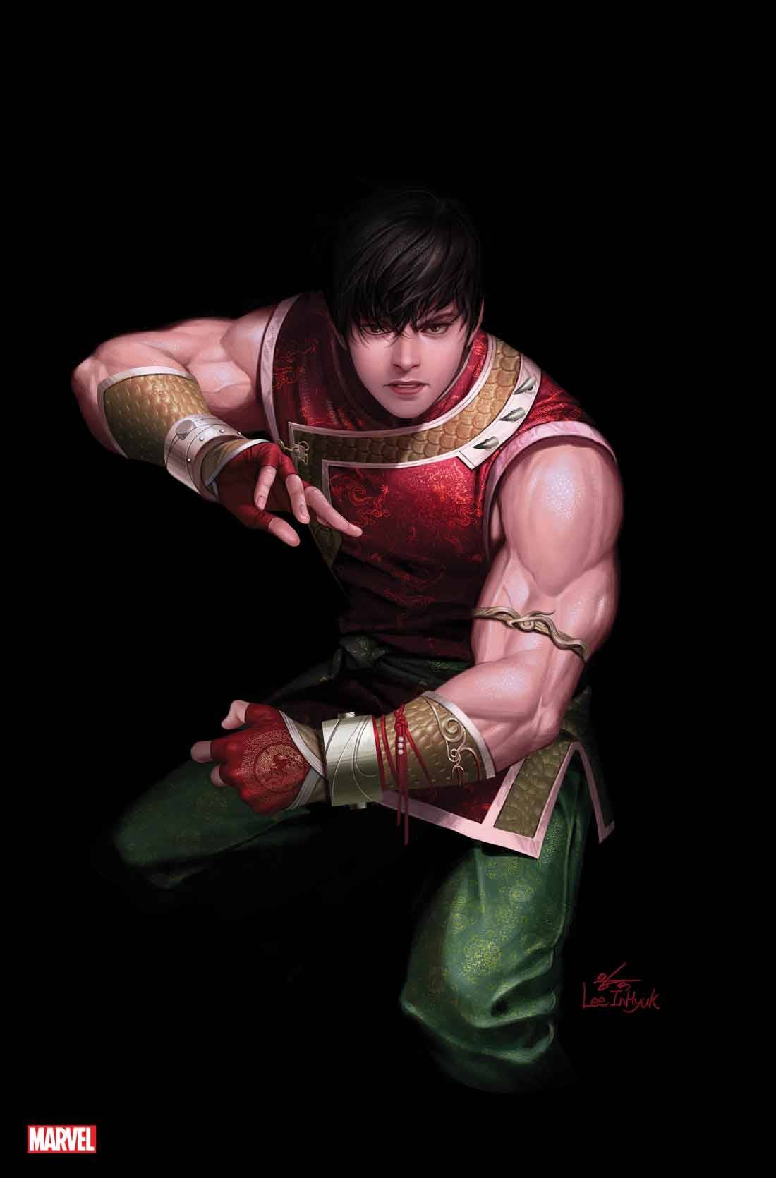 SHANG-CHI #1 (OF 5) INHYUK LEE VIRGIN VAR 1:100