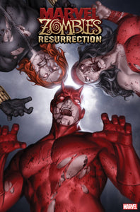 MARVEL ZOMBIES RESURRECTION #1 JUNGGEUN YOON VAR