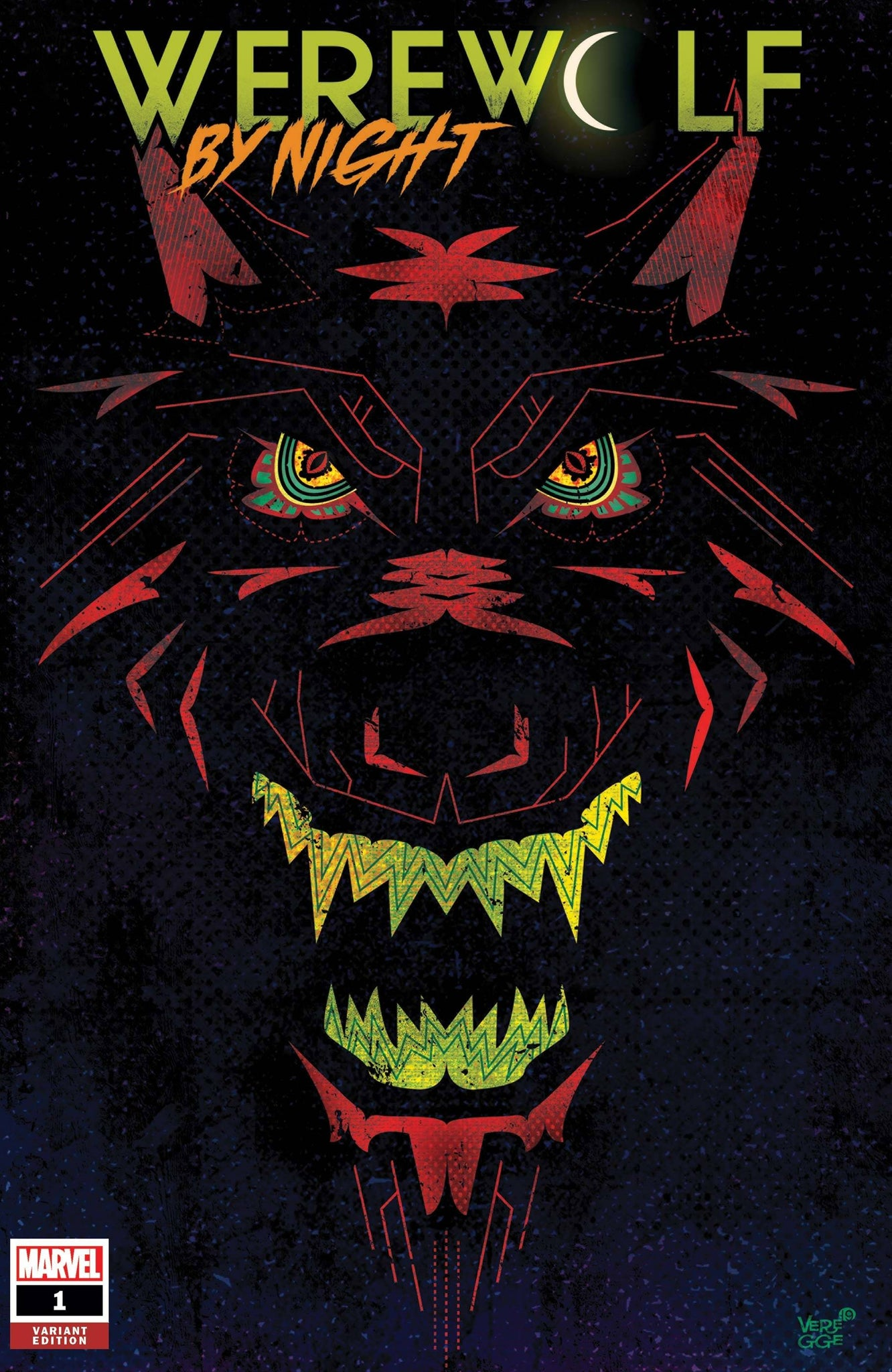 WEREWOLF BY NIGHT #1 VEREGGE VARIANT 10/21/2020