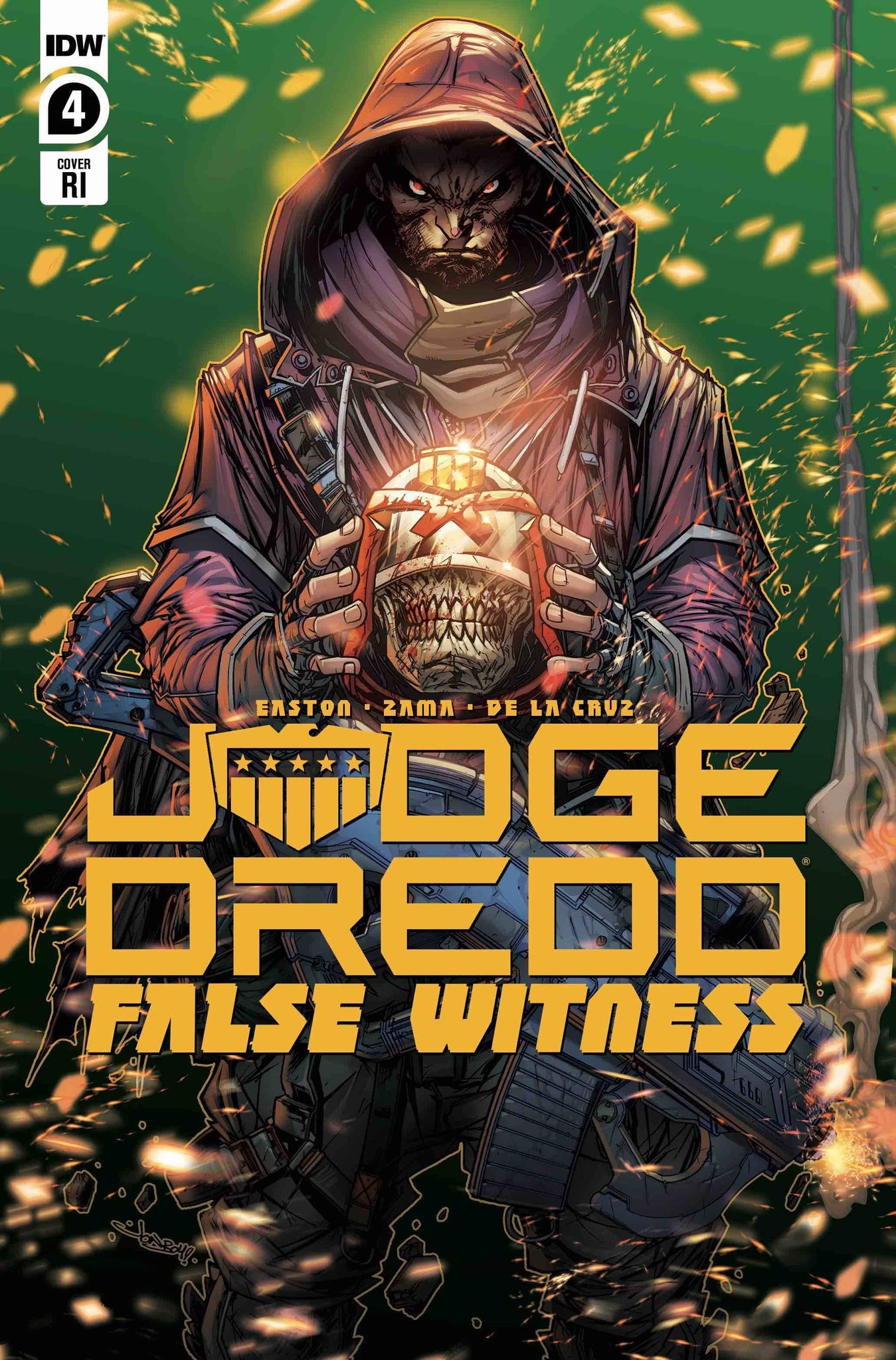 JUDGE DREDD FALSE WITNESS #4 1:10 VARIANT MEYERS
