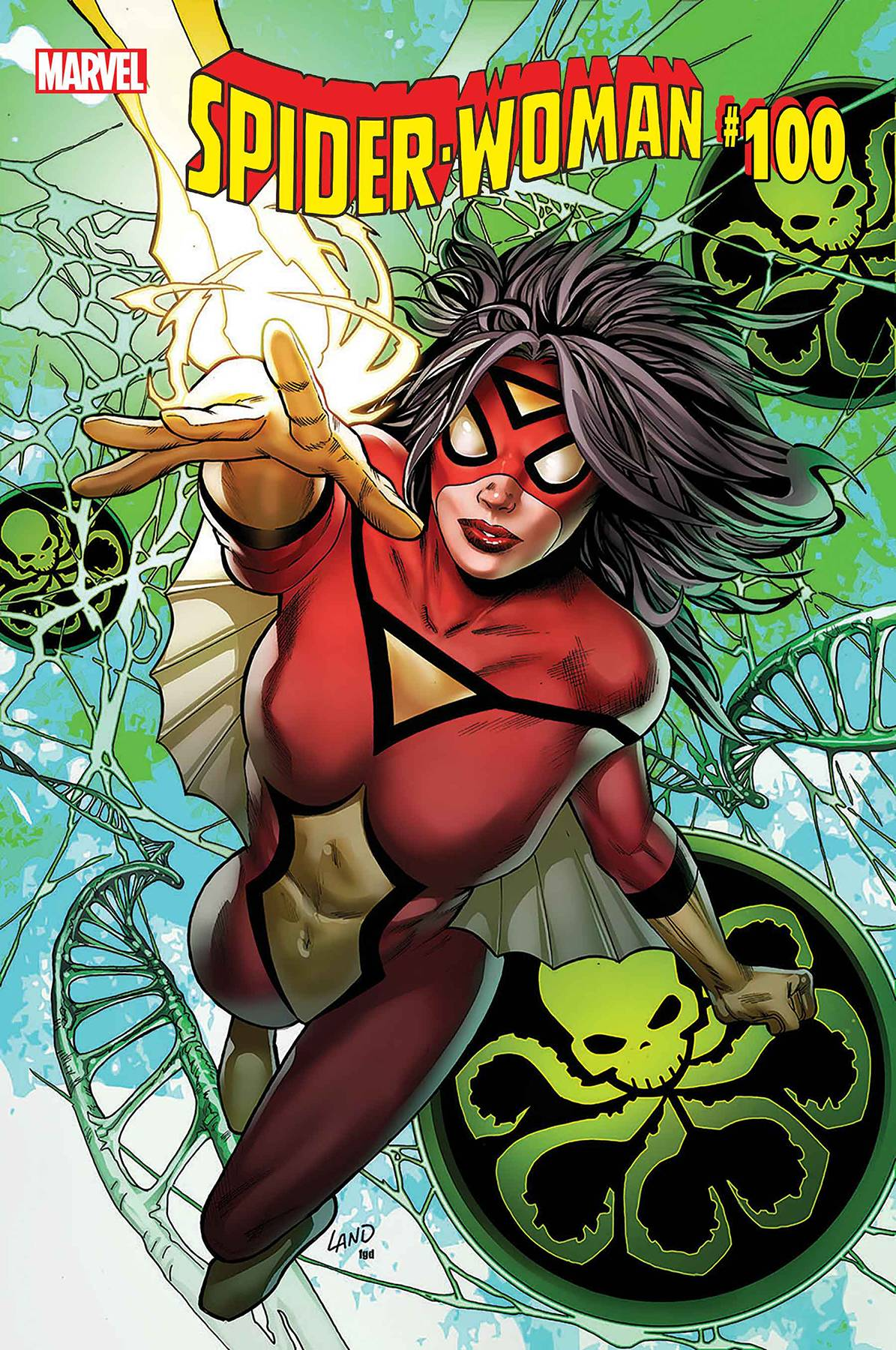 SPIDER-WOMAN #5 GREG LAND COVER