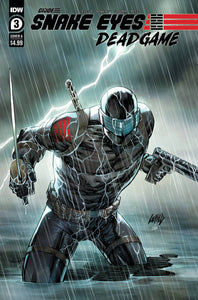 SNAKE EYES DEADGAME #3 COVER A LIEFELD
