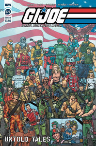 GI JOE A REAL AMERICAN HERO #276 COVER B SHEARER