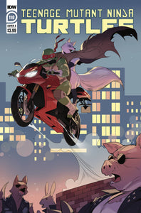 TMNT ONGOING #110 COVER A NISHIJIMA