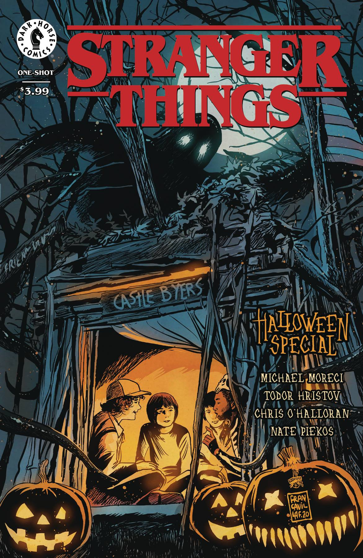 STRANGER THINGS HALLOWEEN SPECIAL ONESHOT (10/21/2020)