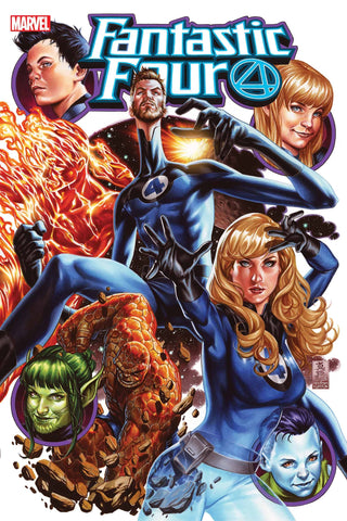 FANTASTIC FOUR #25 BY MARK BROOKS POSTER 24x36
