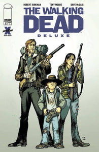 WALKING DEAD DLX #3 COVER B MOORE & MCCAIG