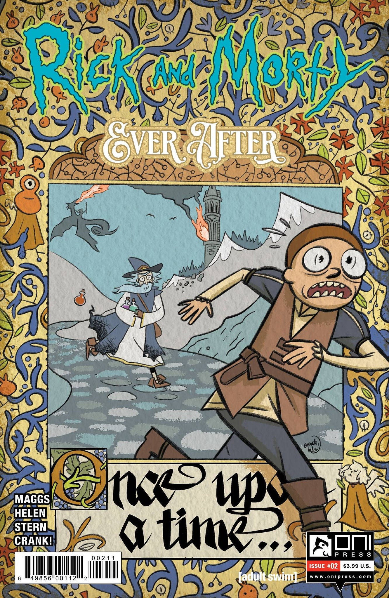 RICK & MORTY EVER AFTER #2 COVER A HELEN (11/25/2020)