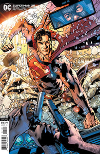 SUPERMAN #25 CVR B BRYAN HITCH VAR