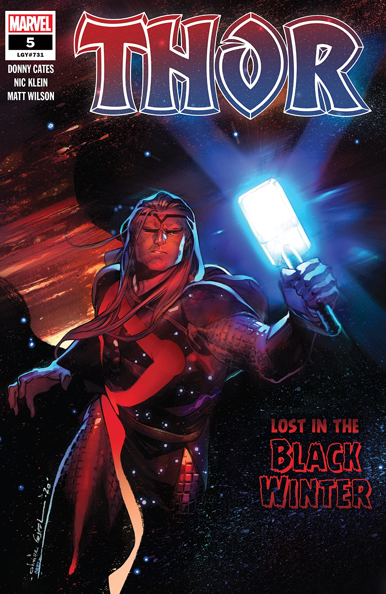 Thor #5 Lost In The Black Winter