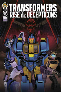 Transformers Rise of The Decepticons #20 Cover A