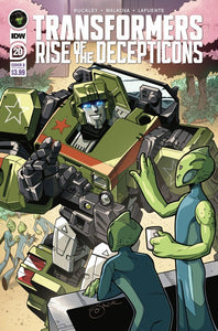 Transformers Rise of The Deceptions 20 Cover B