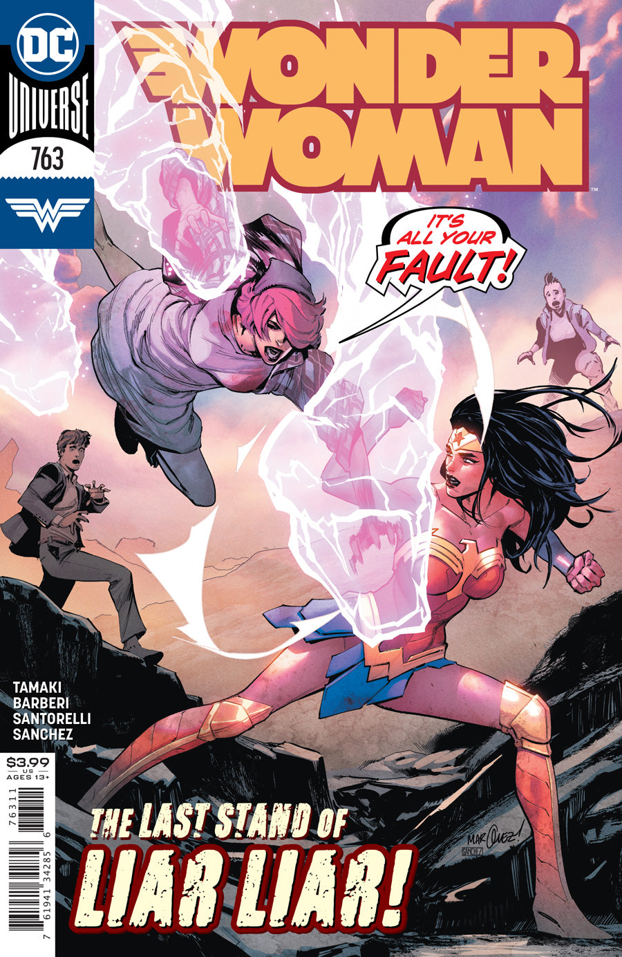 WONDER WOMAN #763 CVR A DAVID MARQUEZ