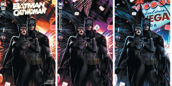 Batman Catwoman #1 Store Variants